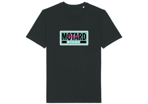 T Shirt Homme Motard Society