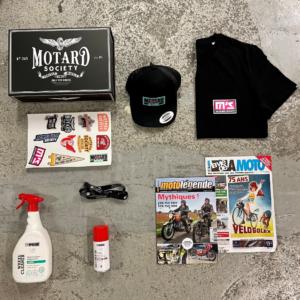 Box cadeau motard motarde