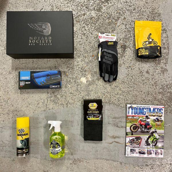 Box Motard Society Roadster
