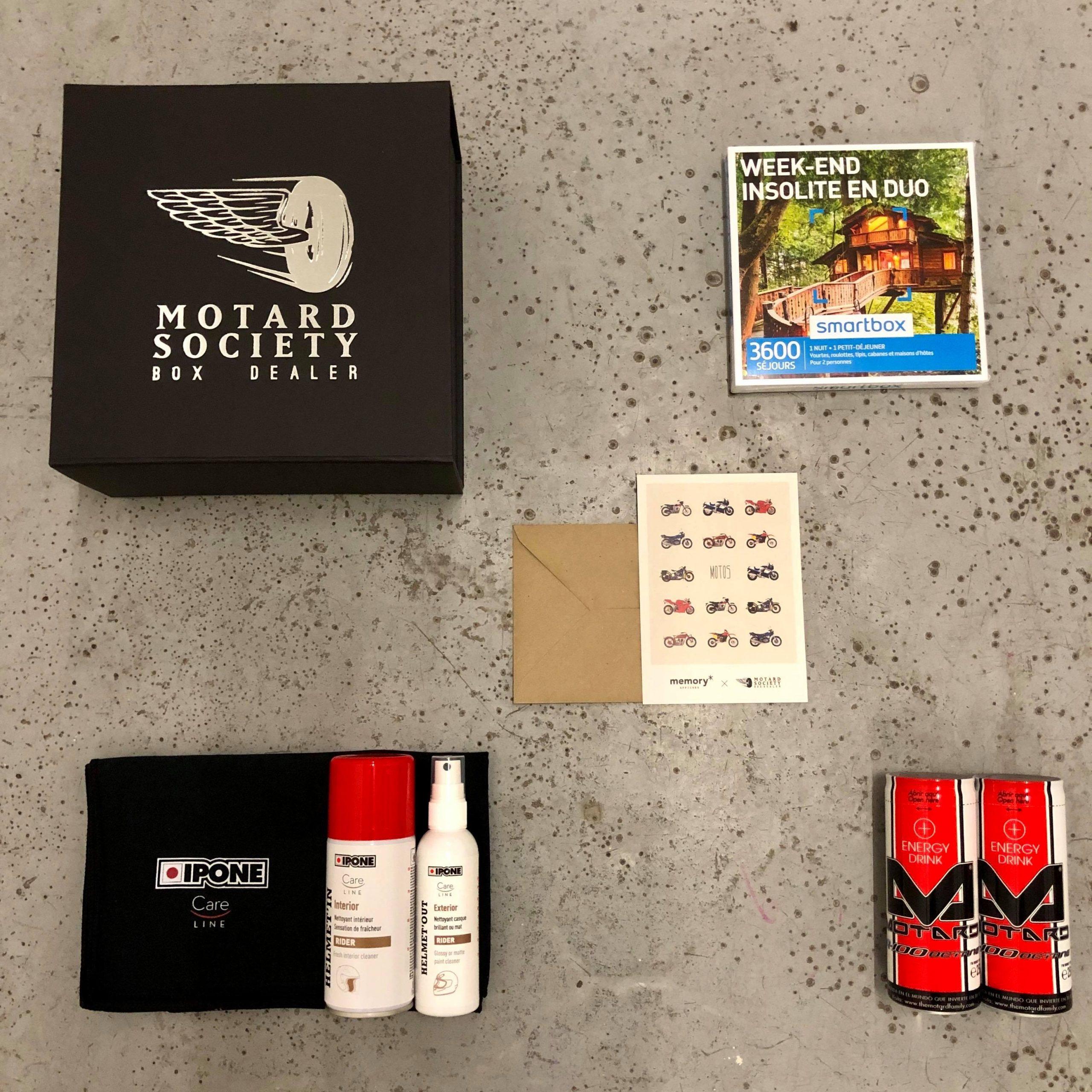 Mini Box Voyage insolite by Motard Society