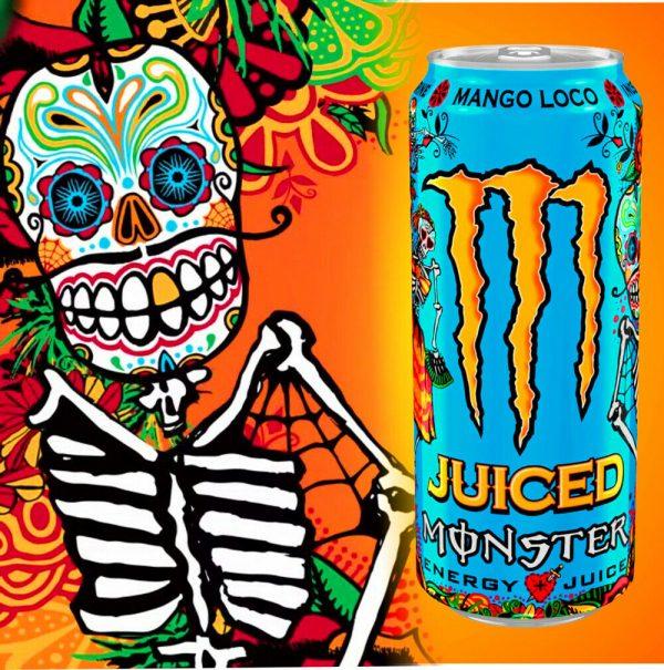 Monster Energy Mango Loco Motard Society