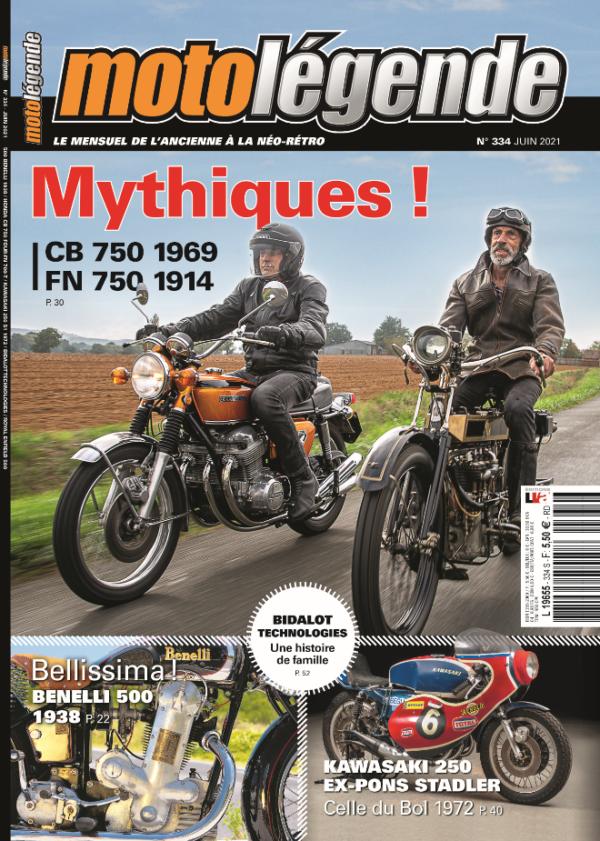 Magazine Moto Légende Box Motard Society