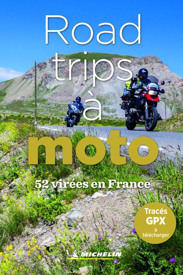 Guide Michelin Road Trips à Moto Box Motard Society